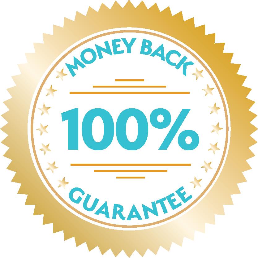100% money Back guarentee