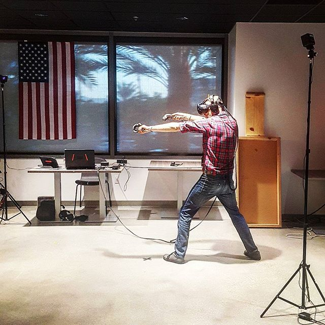 360 developer by day, heroic VR ninja by night. That's our @smacherman • • • • • • • #virtualreality #VR #experience #travel #Explore #adventure #production #360degrees #Hollywood #LosAngeles #California #Beautiful #IGDaily #love #Instagood #Home #tech #Startup #Technology #Ar #htcvive #Immersive #explore #TechStartup #game #win #studio #ninja #vive