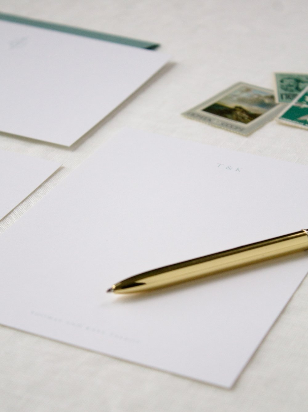 PersonalizedStationery - •  •  •Create your own custom stationery with us for notes that are sure to impress. Together, We'll create personalized designs that are UNIQUELY your own.Whether you're looking for a custom monogram, illustration, or something a little more simple, we can craft a stationery set that will embrace who you are.