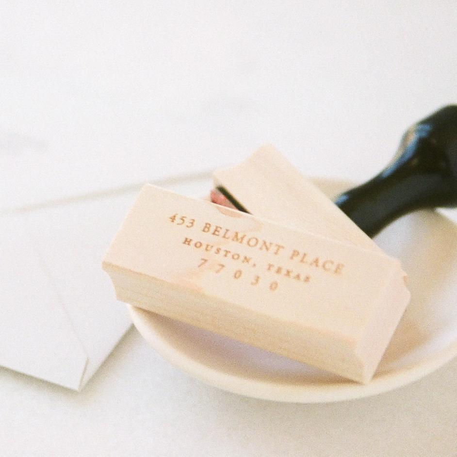 address stamp sets -