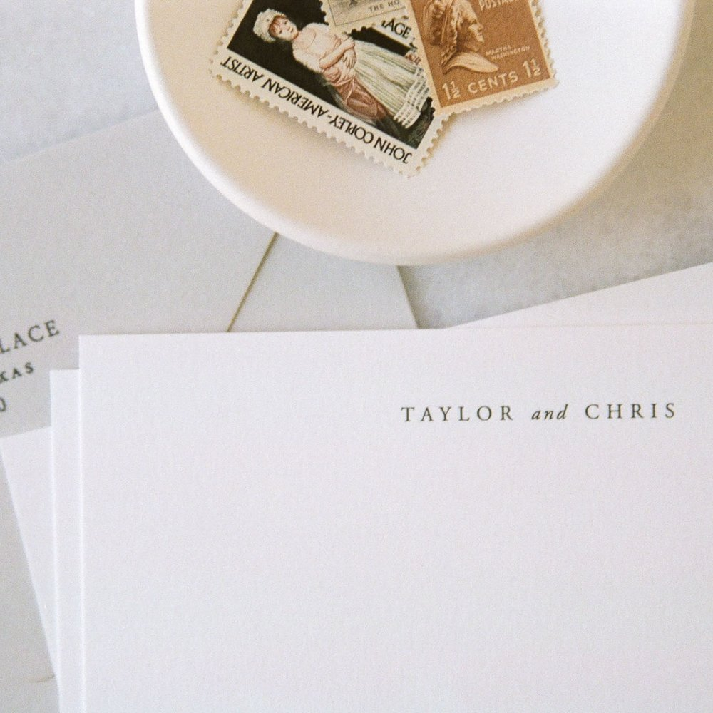 personalized stationery -