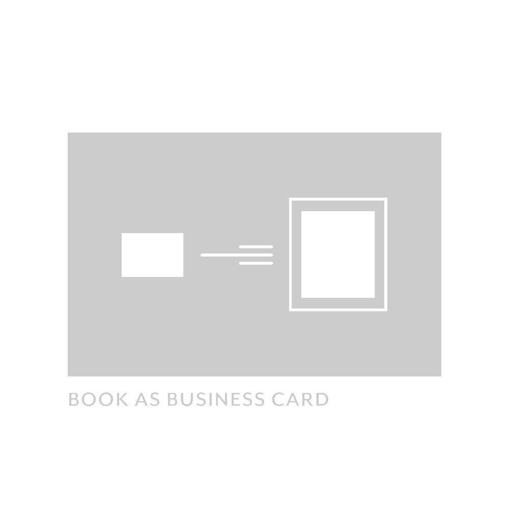 Book as Business Card