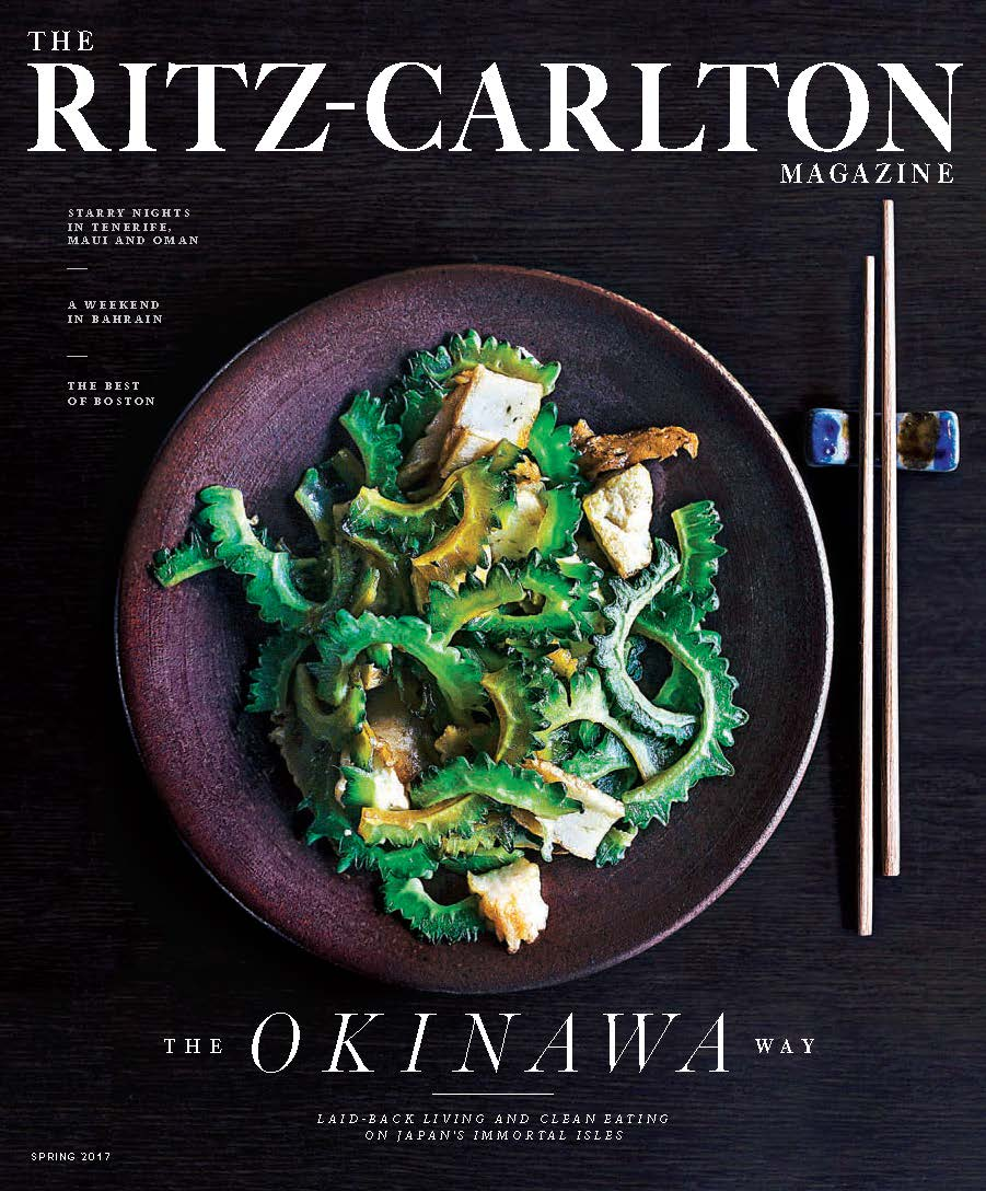 This cover (Okinawa) was the first issue of the global relaunch in Spring 2017.