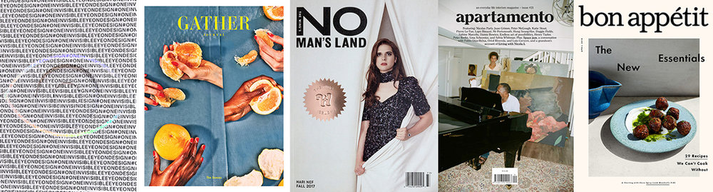 Some of the magazines that will be represented at modmag NY edition