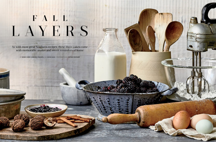 Southern Living Fall Layers October 2018 The Society Of
