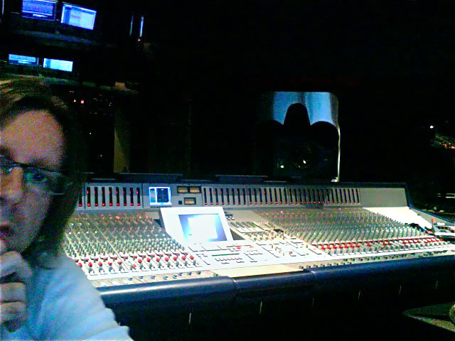 In Session at Red Bull Studios, Santa Monica, CA