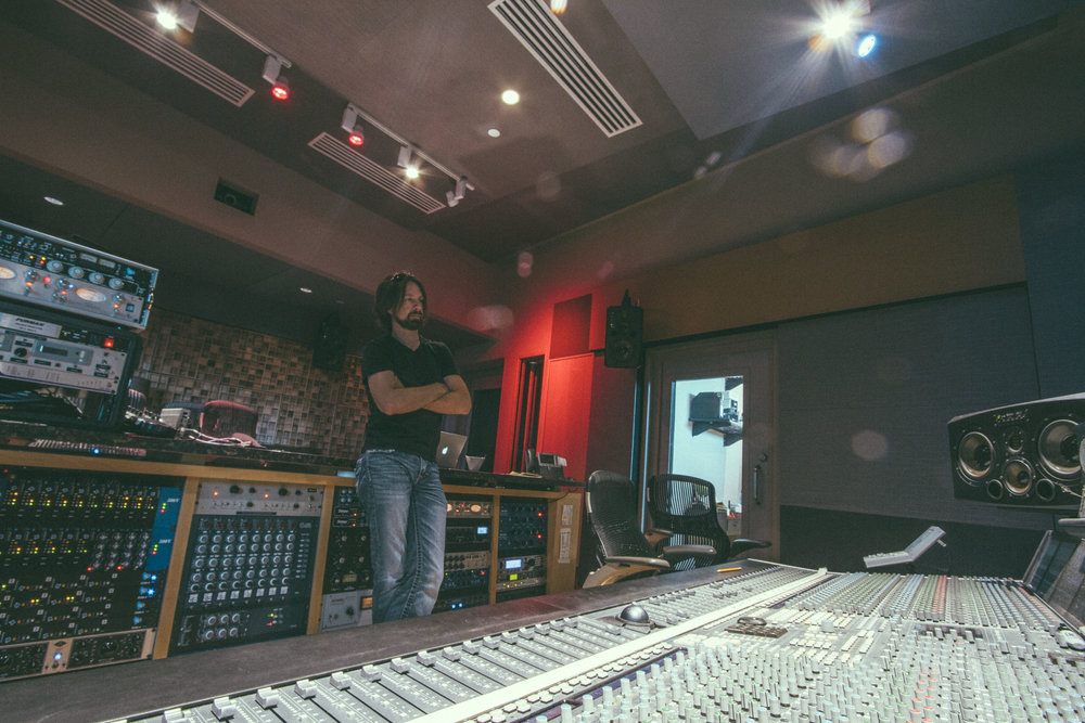 Mixing at Blade Studios, Shreveport, LA