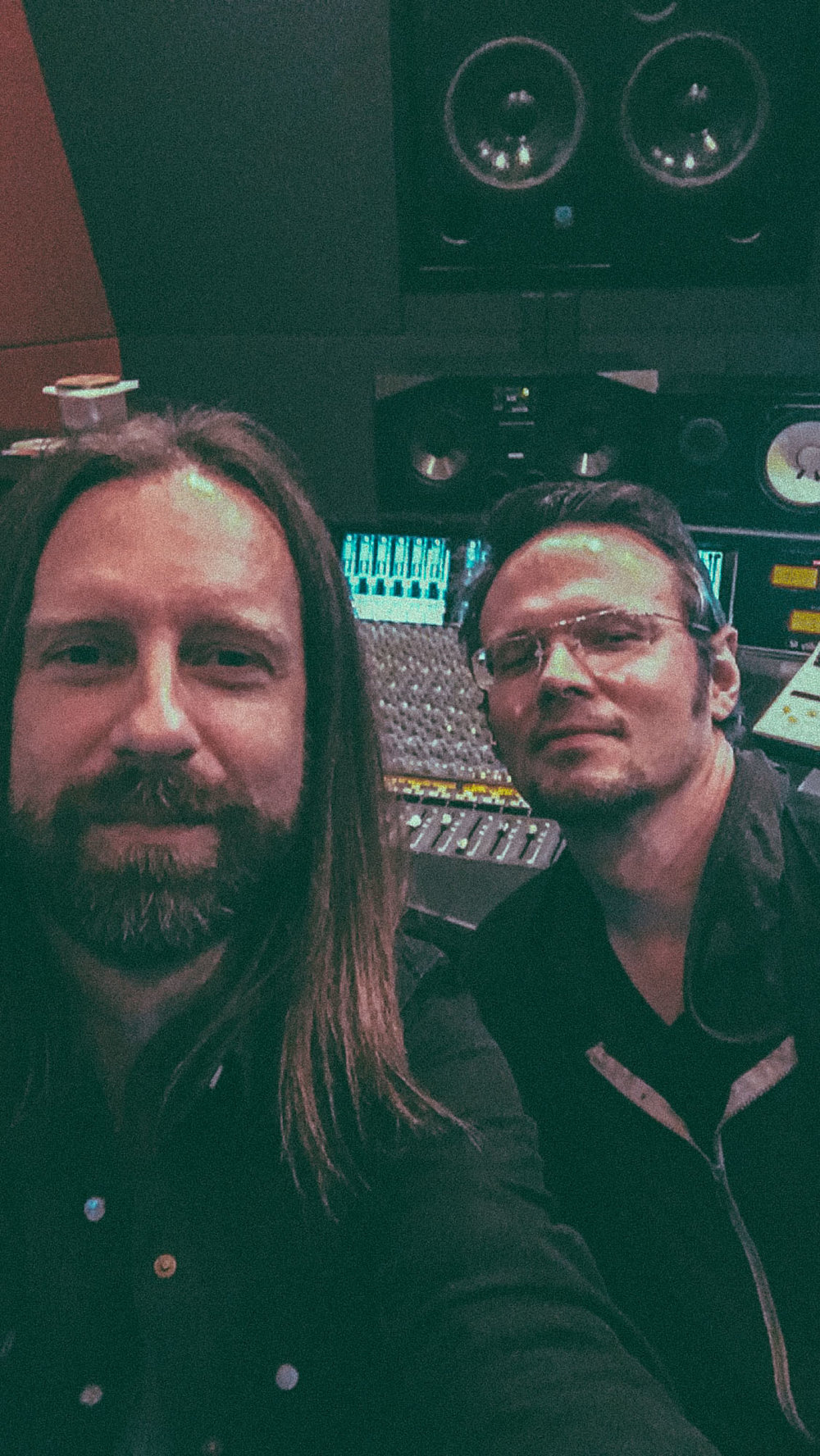 "Mixing with Luther Dickinson on the North Mississippi AllStars record ""Pray for Peace"""