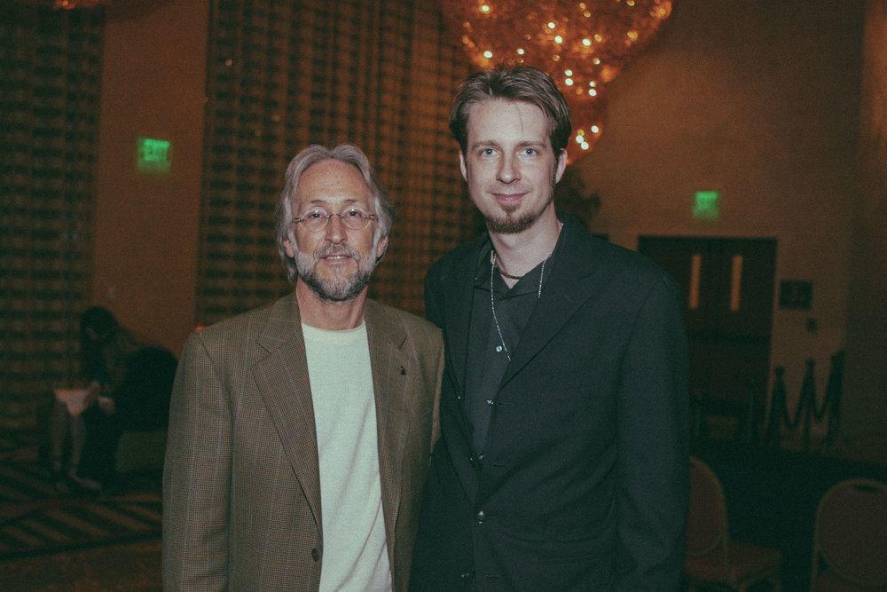 With Neil Portnow while serving as President of the Texas Chapter of The Recording Academy