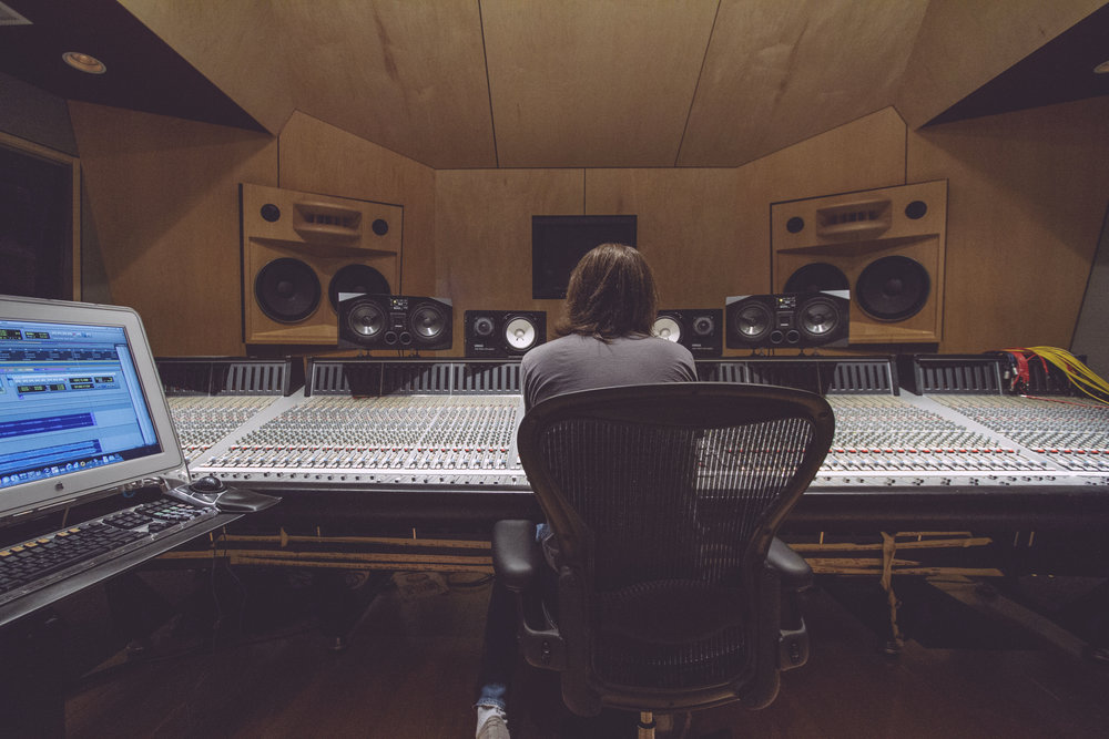 Mixing on the SSL 9080J