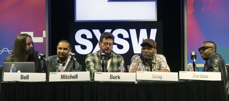 Chris Bell, Boo Mitchel (Royal Studios, John Burk (Concord Music), Robert Cray, Steve Jordan, Austin, TX