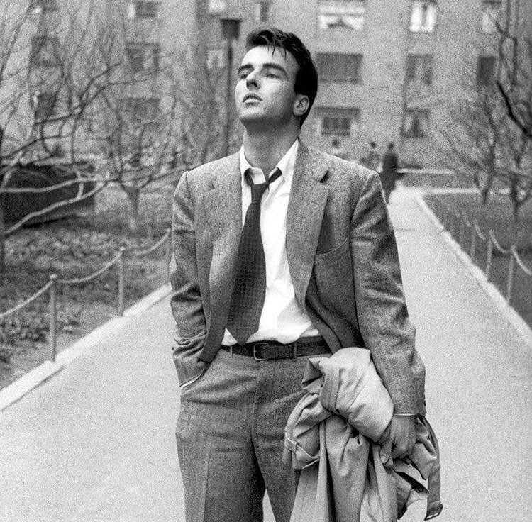 """I watched myself in 'Red River' and I knew I was going to be famous, so I decided I would get drunk anonymously one last time"" - Montgomery Clift"