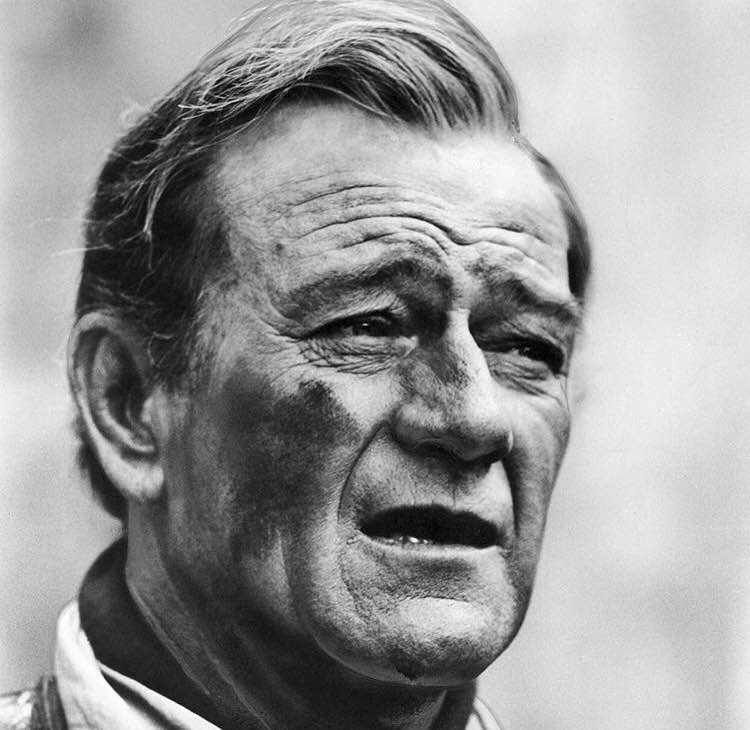 """If you've got them by the balls their hearts and minds will follow"" - John Wayne"