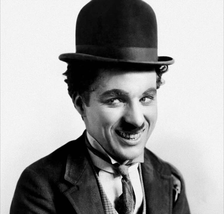 """You'll never find a rainbow if you're looking down."" - Charlie Chaplin"