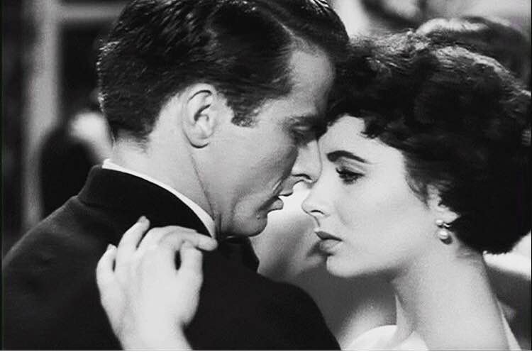 """It's like your forehead was made to cradle my nose"" - Montgomery Clift to Elizabeth Taylor"