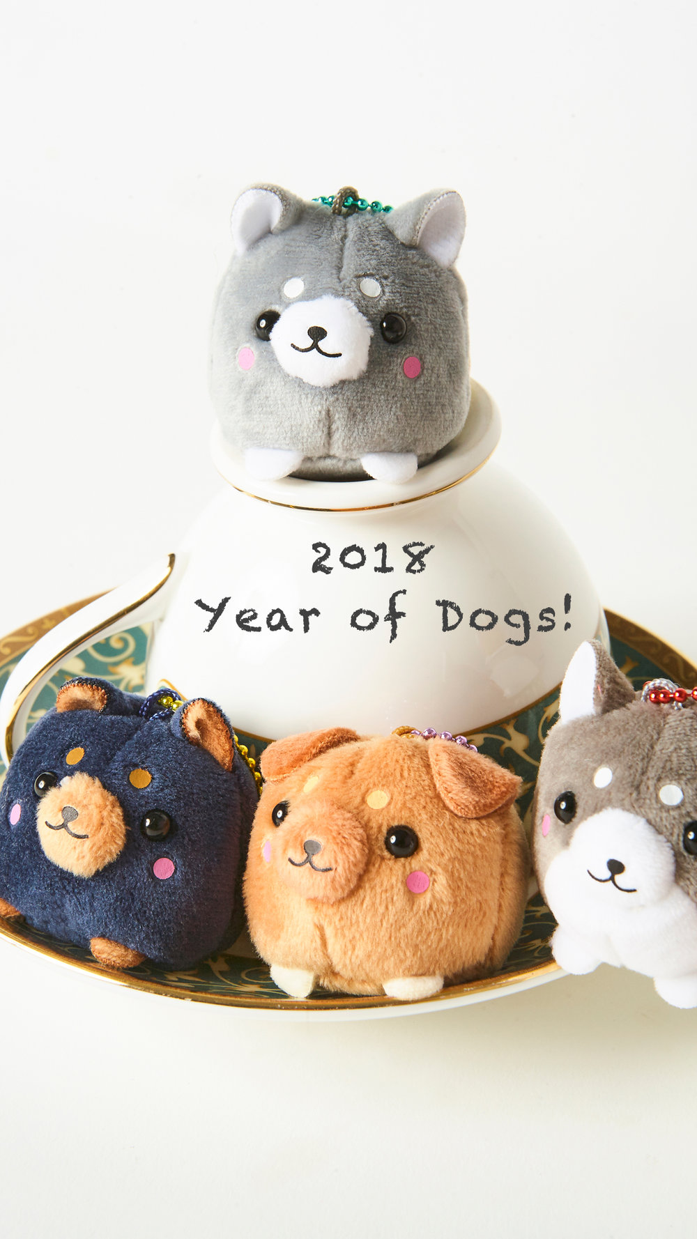 2018 Mobile Wallpaper - Dog Family #2 - Resolution: iOS/Android