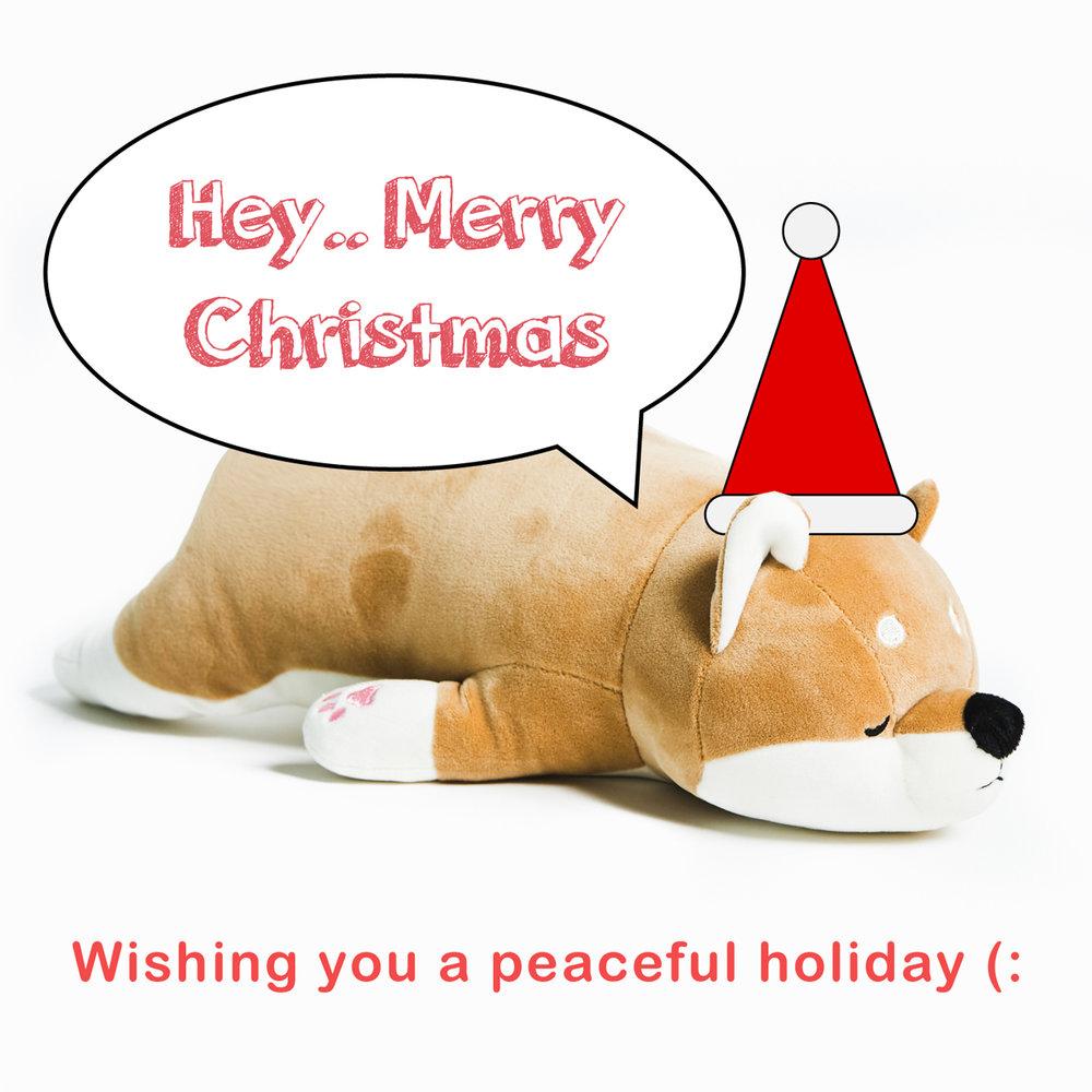 2017 Christmas Greeting - Sleepy Dog - DOWNLOAD