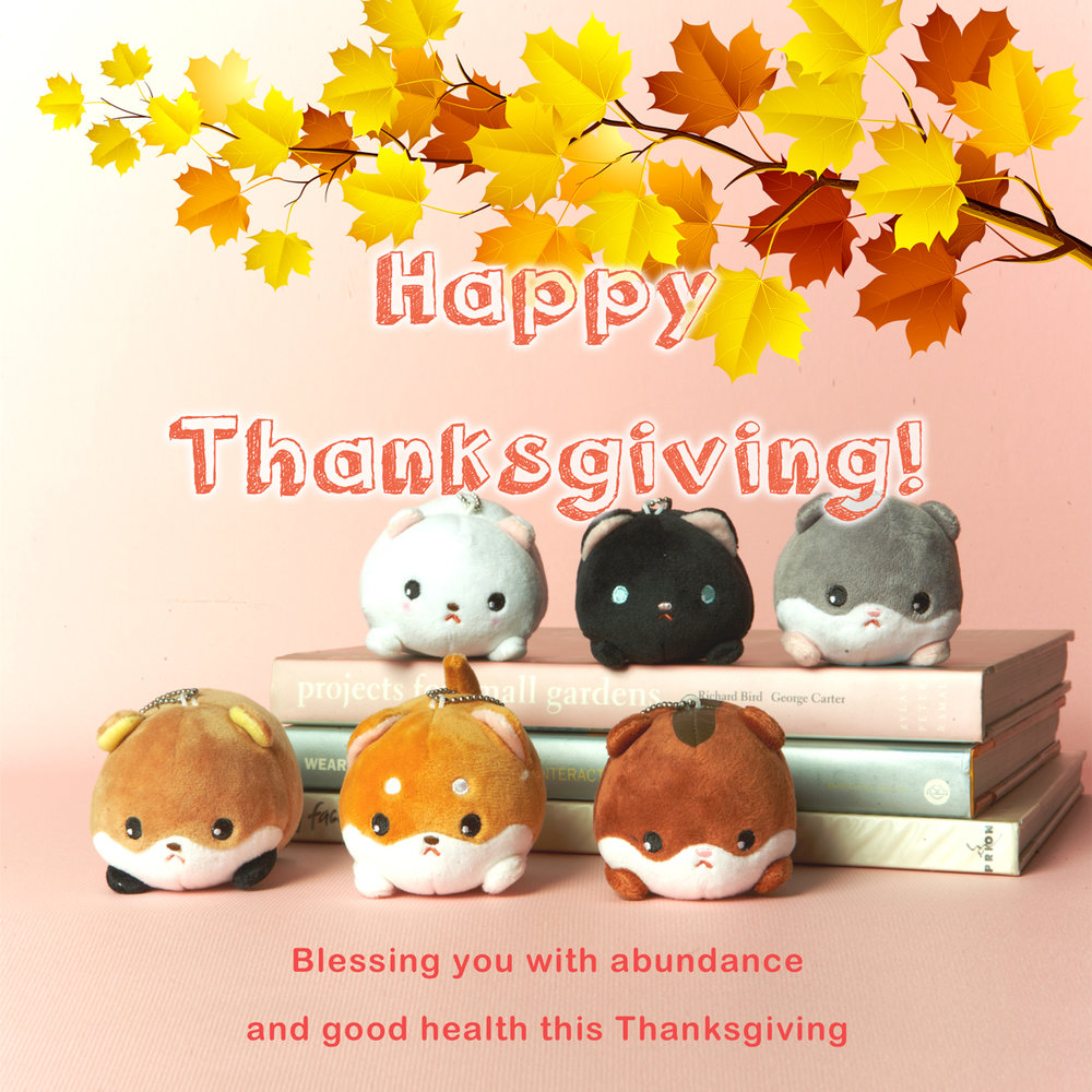 2017 Thanksgiving Greeting - Mini Rodents - DOWNLOAD