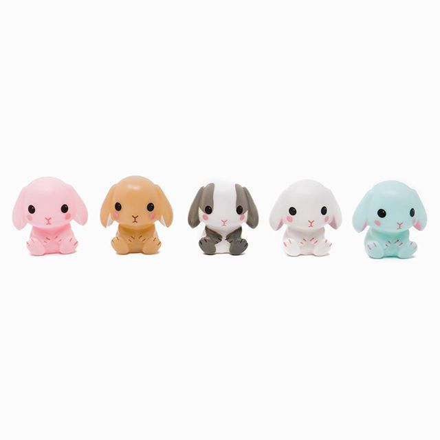 Amuse - Squeaky bunny lopes 🐰 . . #amuse #toycup #bunny #toy #rabbit #cute