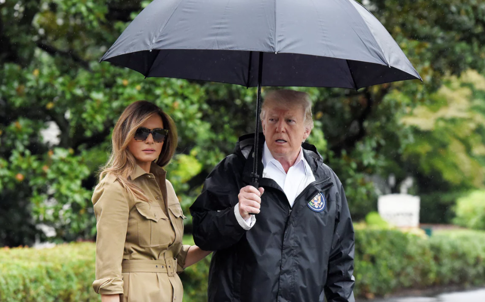 As the hurricane bore down, Trump tweeted his excitement - The Guardian, September 23, 2017Read more.