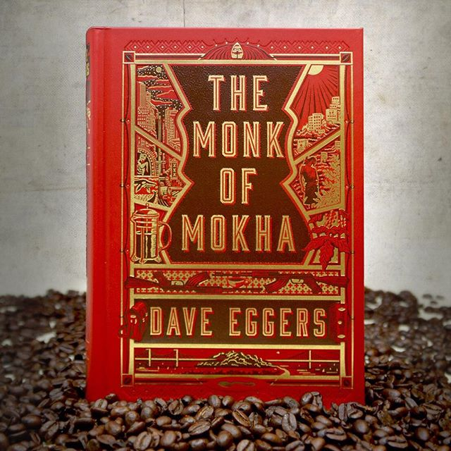 TONIGHT: Dave Eggers and Mokhtar Alkhanshali visit Boston. Tickets via @harvardbookstore for their event in Cambridge. @ghowellcoffee will be serving ☕️ #cambridgemass #boston #harvardsq #books #author #nonfiction #bookstagram #themonkofmokha #daveeggers #tonight #yemen #coffee #thirdwavecoffee