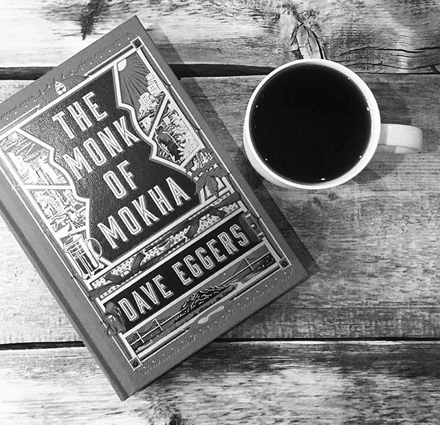 Regram: @beantowncoffeequeen Thanks for the excellent 📸! Looks like a pretty great reading session. ☕️✨#coffee #thirdwavecoffee #daveeggers #themonkofmokha #mokhtaralkhanshali #portofmokha #author #book #amreading #bookstagram #nonfiction #truestory #yemen #☕️