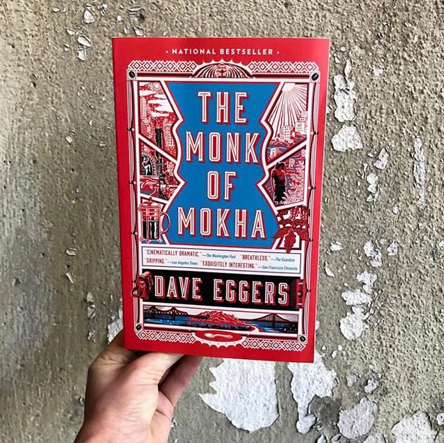 #repost from @vintageanchorbooks, the paperback of THE MONK OF MOKHA will be out January 8th! We're not saying it's the perfect way to use your holiday gift cards, but we're not NOT saying that.😎☕️