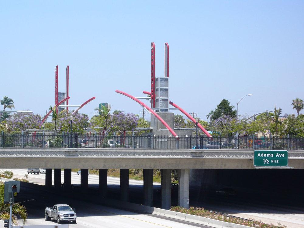 El Cajon Boulevard Transit Station - Metropolitan Transit System