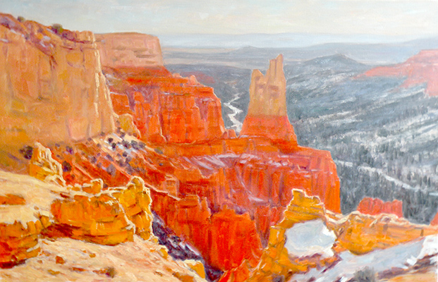 "Bryce Canyon Winter | 30""x40"" 