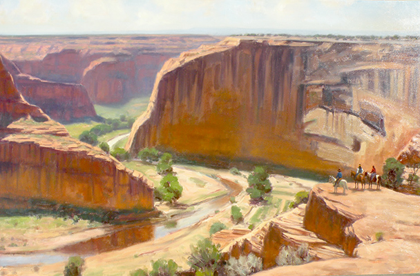 "Canyon de Chelly Overlook | 30""x40"" 