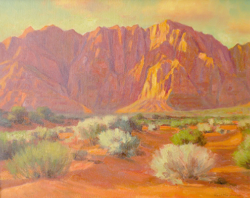 "Kayenta Sunset | 12""x16"" 