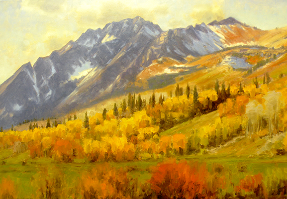 "Alta Autumn | 20""x24"" 