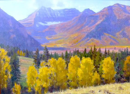 "Sundance Autumn | 36""x48"" | private collection"
