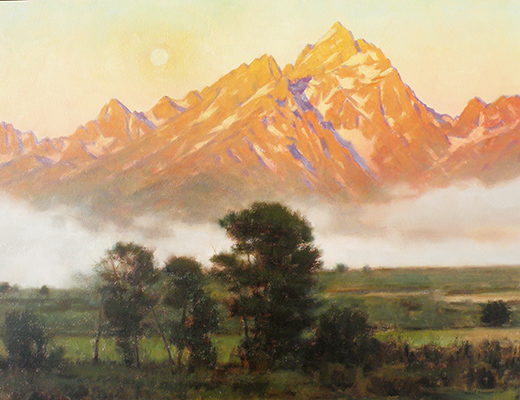 "Teton Sunrise | 24""x36"" 