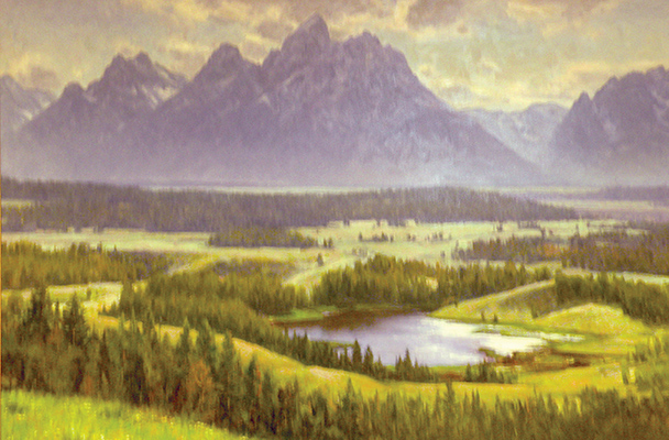 "Teton Vista | 36""x48"" 