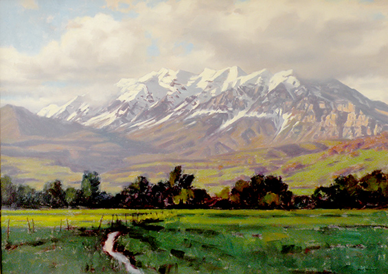 "Timpanogos Summer | 36""x54"" 