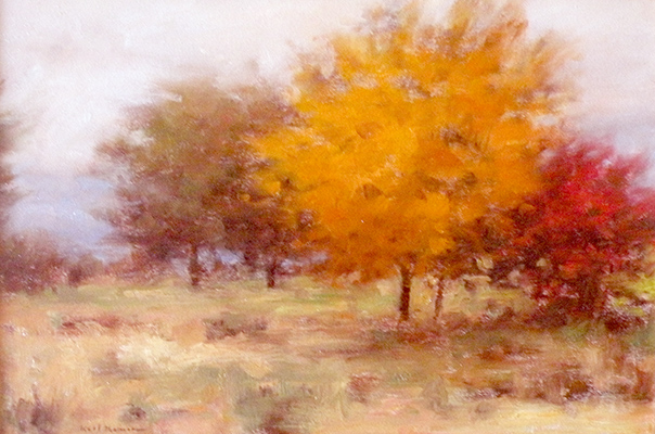 "Autumn Trees | 9""x12"" 