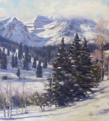 "View from Sundance | 20""x18"" 