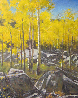 "Autumn Near Snowbird | 40""x60"" 
