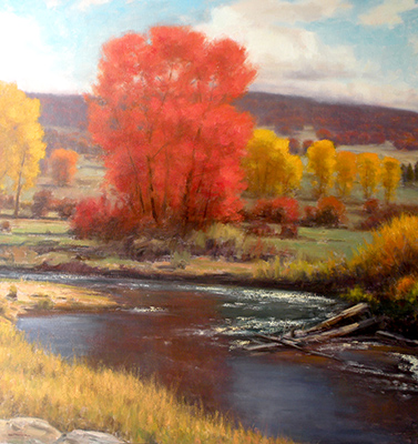 "Diamond Fork Autumn | 60""x48"" 