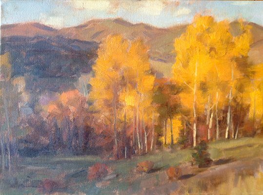 "Late October | 12""x16"" 