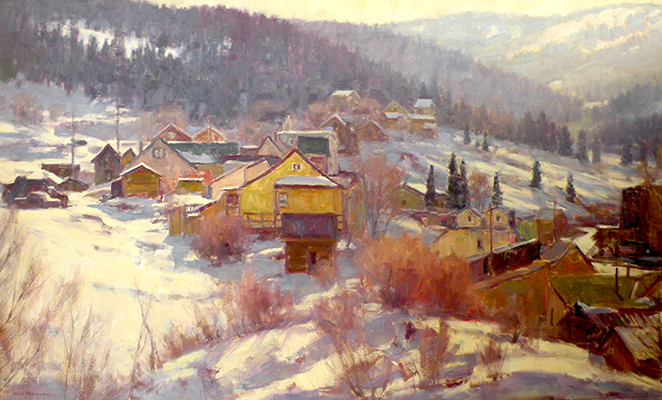"Park City Winter | 30""x48"" 