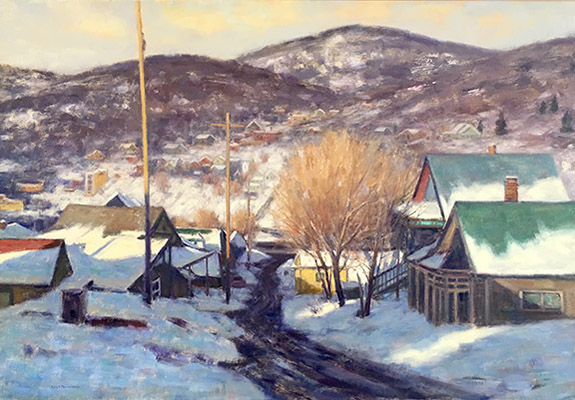 "Mantua Winter | 20""x30"" 