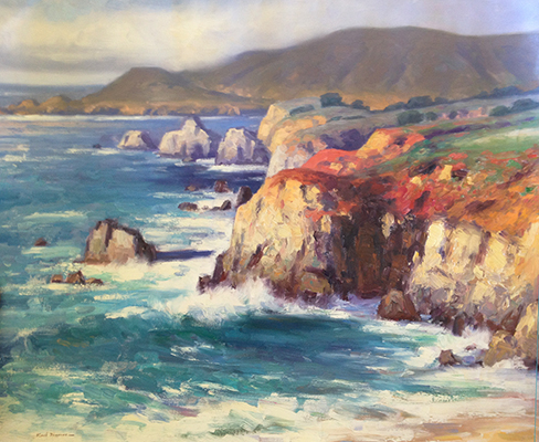 "Big Sur | 24""x30"" 