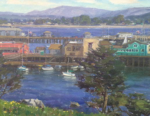 "Fisherman's Wharf | 20""x30"" 