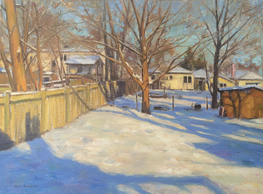 "Koosharem Winter | 24""x30"" 