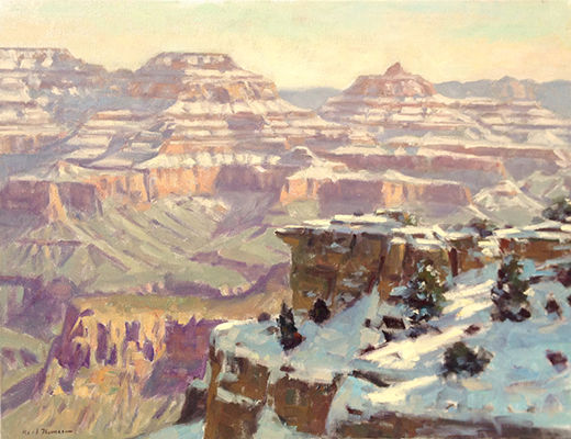 """Winter Morning, Grand Canyon 