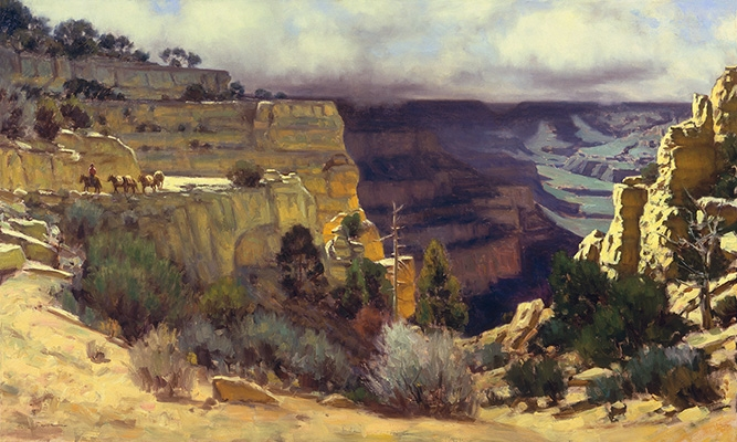 "Kiabab Trail, Grand Canyon | 30""x40"" 