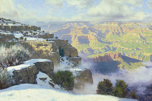 "Winter Magic, Grand Canyon | 30""x45"" 