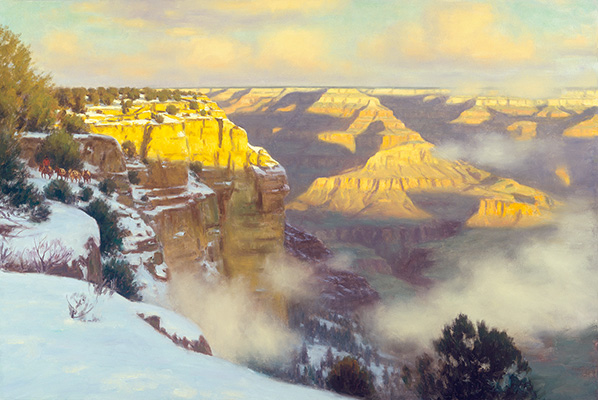 "Golden Canyon, Grand Canyon | 30""x48"" 
